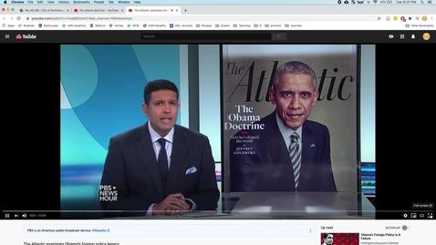 Thumbnail for entry 14_Goldberg Interview - Obama Doctrine