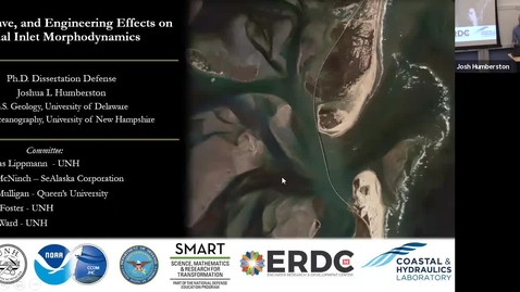 Thumbnail for entry Clip of Humberston Ph.D. Oceanography  Defense
