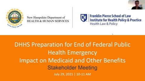 Thumbnail for entry DHHS Preparation for End of Federal Public Health Emergency: Impact on Medicaid and other Benefits