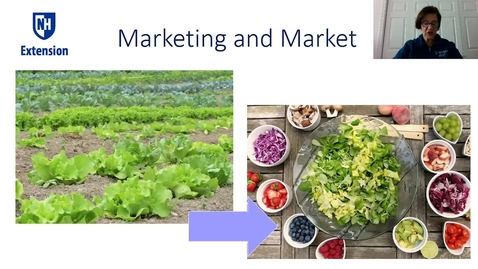 Thumbnail for entry New Farmer School 2020 - Marketing and Markets with Nada Haddad, UNH Extension