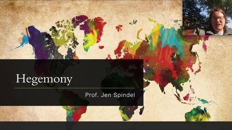 Thumbnail for entry 9 - Hegemony