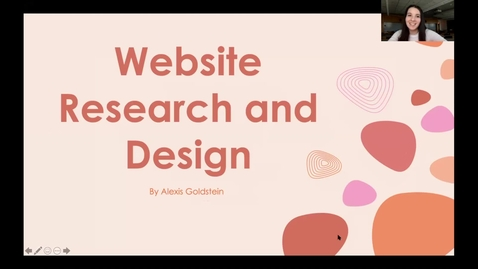 Thumbnail for entry Website Research and Design