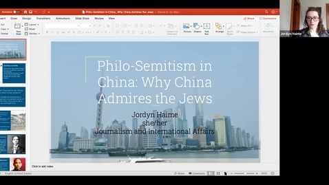 Thumbnail for entry Philo-Semitism in China: Why China Admires the Jews