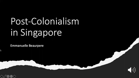Thumbnail for entry Post-Colonialism in Singapore