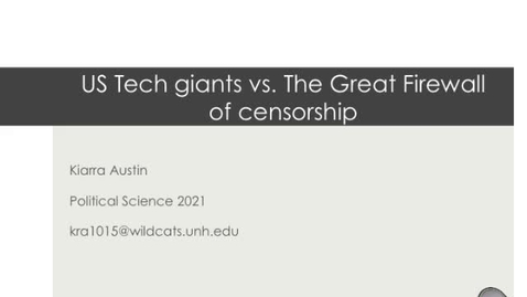Thumbnail for entry US Tech Giants VS The Great Firewall