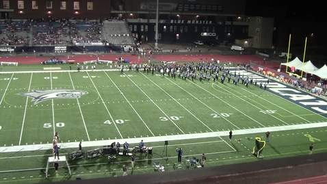 Thumbnail for entry UNH Wildcat Marching Band Halftime Show September 21, 2019