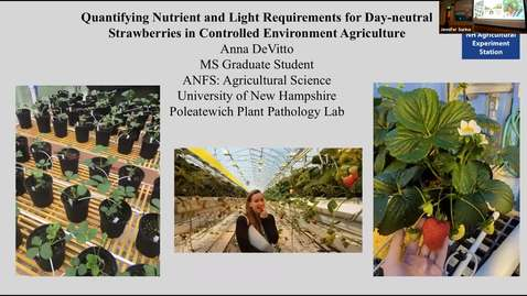 Thumbnail for entry ANFS Seminar: Anna DeVitto M.S. Thesis Defense, 26July 2019