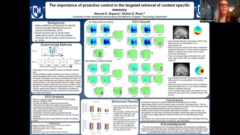 Thumbnail for entry The importance of proactive control in the targeted retrieval of content specific memory