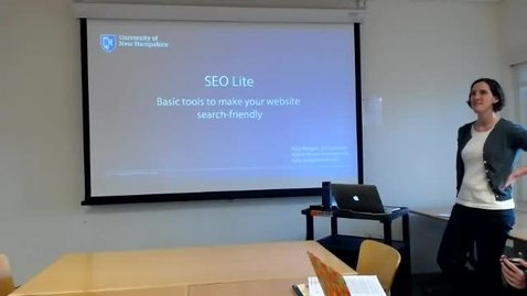 Thumbnail for entry SEO Lite - Basic tools to make your website search-friendly