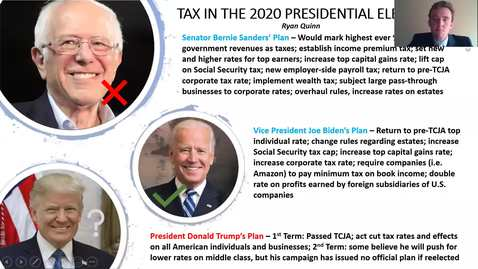 Thumbnail for entry Tax in the 2020 Presidential Election