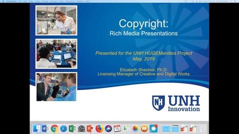 Thumbnail for entry Copyright Presentation #1, Sheckler HUGEManities