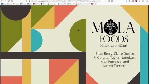 Thumbnail for entry UNH URC 2020 Mola Foods Marketing Workshop Presentation