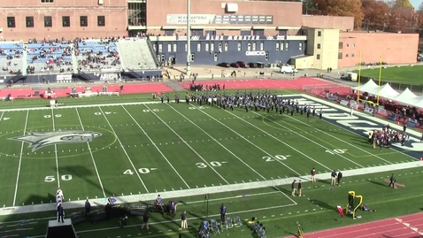 Thumbnail for entry UNH Wildcat Marching Band Halftime Show November 2, 2019