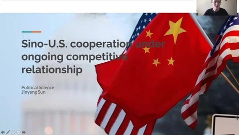 Thumbnail for entry Sino-U.S. cooperation under ongoing competitive relationship