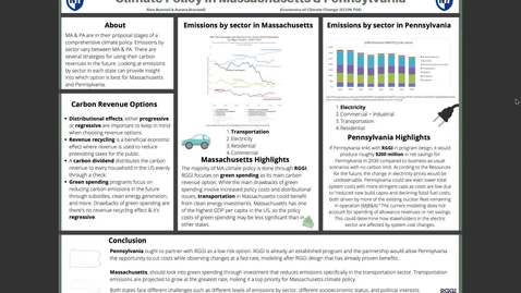 Thumbnail for entry Climate Policy MA & PA URC