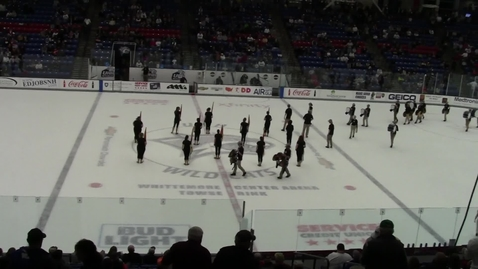 Thumbnail for entry UNH Wildcat Marching Band on ICE 2018 - Side 1