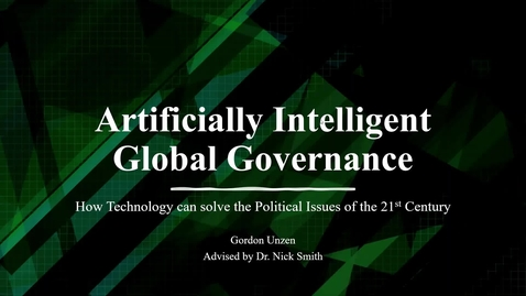Thumbnail for entry AI Global Governance