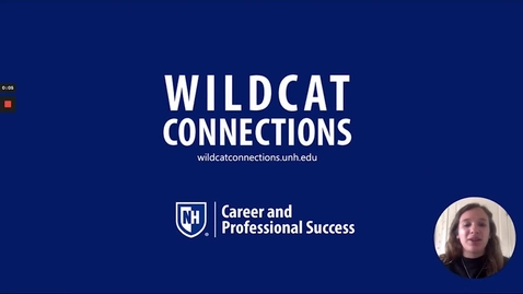 Thumbnail for entry Wildcat Connections Overview Spring 2021