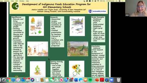 Thumbnail for entry ECOG-Development of Indigenous Foods Education Program for New Hampshire Elementary Schools
