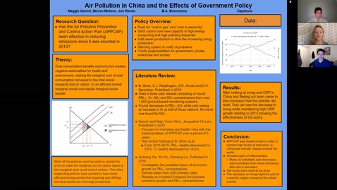 Thumbnail for entry ECON-BA. Air-Pollution-in-China-and-the-Effects-of-Government-Policy