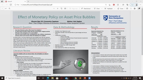 Thumbnail for entry EconBS.Effect-of-Monetary-Policy-on-Asset-Price-Bubbles