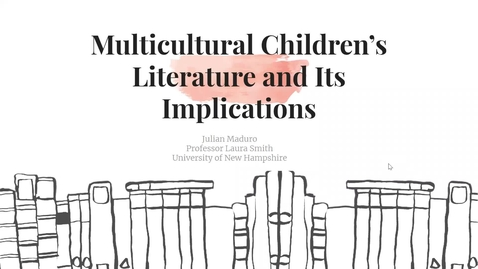 Thumbnail for entry The Relationship between Multicultural Children's Literature and the Reading Practices of Young Adults