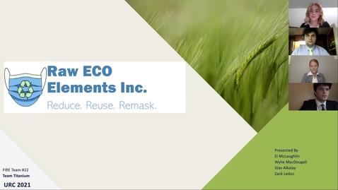 Thumbnail for entry Team Titanium (Team 22) Raw ECO Elements Inc.