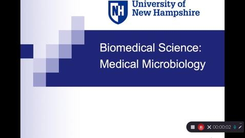 Thumbnail for entry Biomedical Science: Medical Microbiology Option