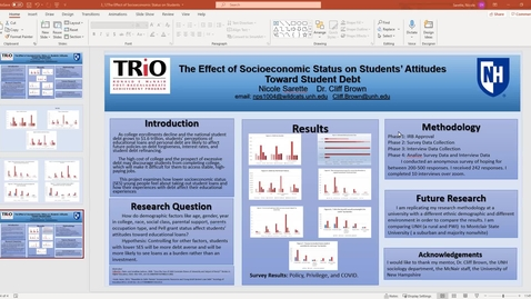 Thumbnail for entry The Effect of Socioeconomic Status on Students' Attitudes Toward Student Debt