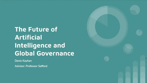 Thumbnail for entry The Future of Artificial Intelligence and Global Governance