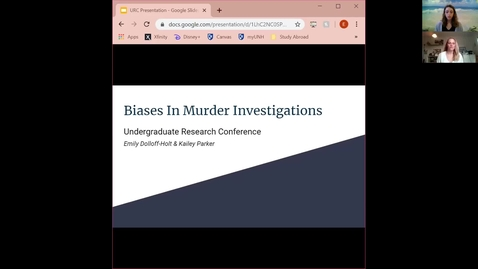 Thumbnail for entry Biases in Murder Investigations