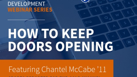Thumbnail for entry UNH Live Professional Development Webinar Series: How to Keep Doors Opening