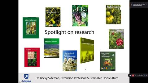 Thumbnail for entry Spotlight on Research: The Soil-Borne Legacy