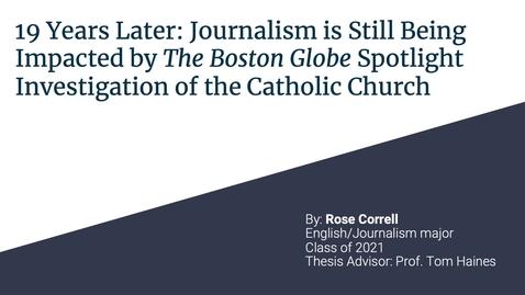 Thumbnail for entry Rosie Correll, URC 2021 Presentation