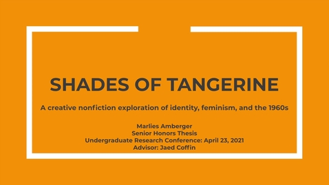 Thumbnail for entry Marlies Amberger, URC 2021 Presentation