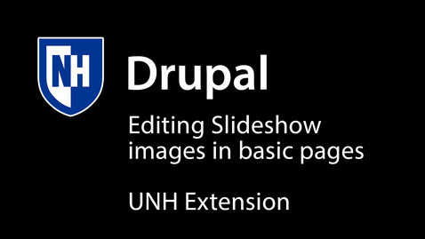 Thumbnail for entry Basic Page Slide Show Images