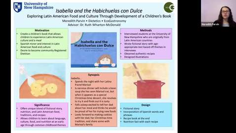 Thumbnail for entry ECOG-Isabella and the Habichuelas con Dulce Exploring Latin American Food and Culture Through Development of a Children's Book