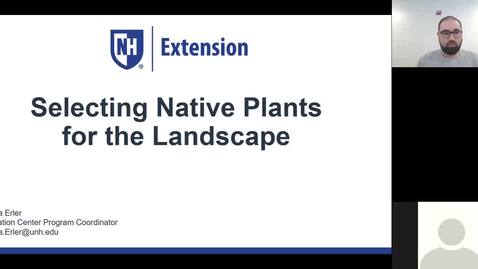 Thumbnail for entry Selecting Native Plants