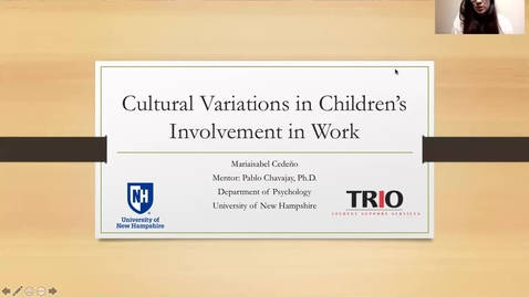 Thumbnail for entry Cultural Variations in Children's Involvement in Work