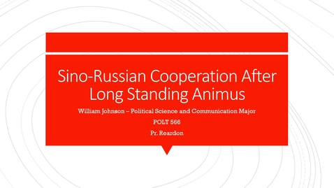 Thumbnail for entry Political Cooperation After Longstanding Animus Historical Analysis