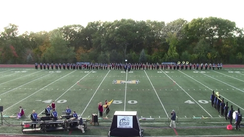 Thumbnail for entry UNH Wildcat Marching Band MICCA Norwood Show