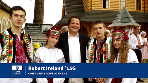 Thumbnail for entry From Peace Corps Volunteer to Carsey School Alumni: Bob Ireland '15G