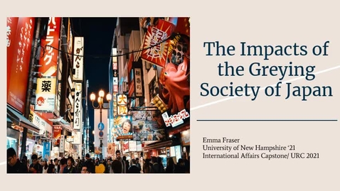 Thumbnail for entry The Impacts of the Greying Society of Japan