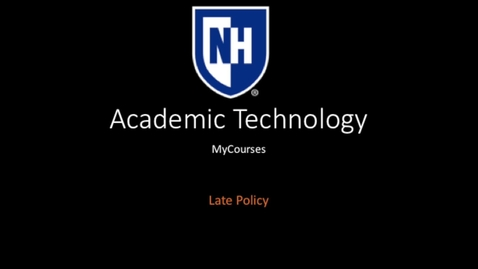 Thumbnail for entry myCourses-Late Policy.mp4