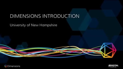 Thumbnail for entry UNH Dimensions Overview 10.15.18