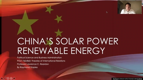 Thumbnail for entry China's Solar Power Renewable Energy