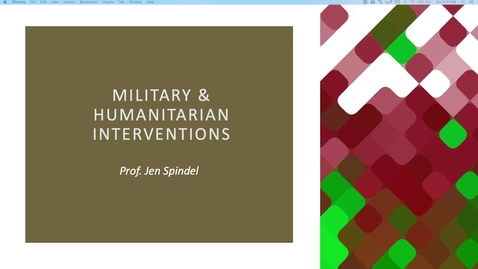 Thumbnail for entry 13_Humanitarian Interventions