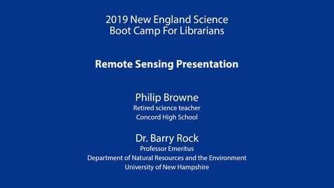 Thumbnail for entry Remote Sensing Presentation: Rock & Browne