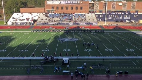 Thumbnail for entry UNH Wildcat Marching Band Halftime Show October 13, 2018