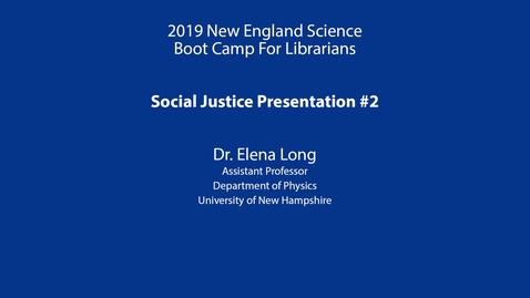 Thumbnail for entry Social Justice Presentation: Long